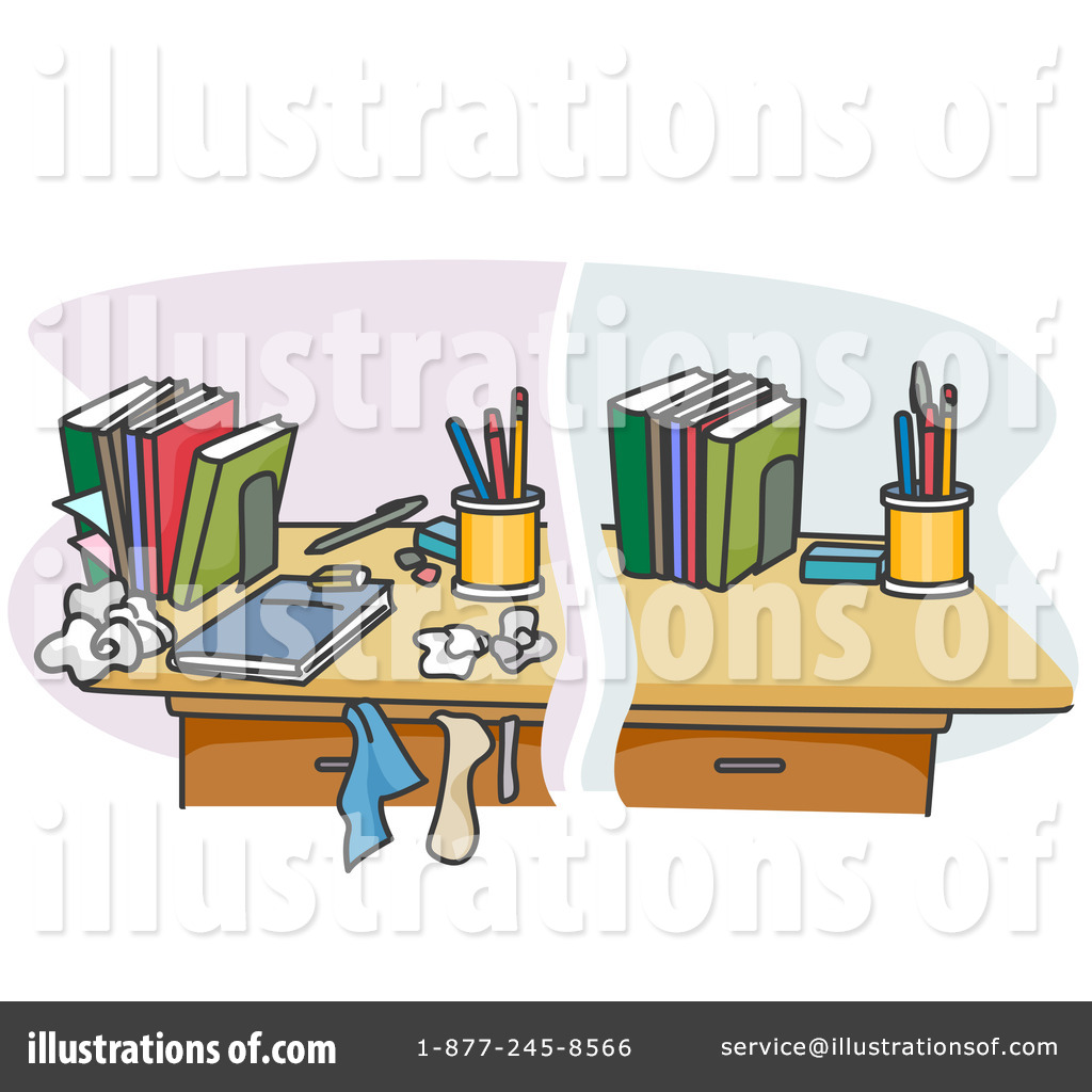 Desk Clipart  1050173 By Bnp Design Studio   Royalty Free  Rf  Stock