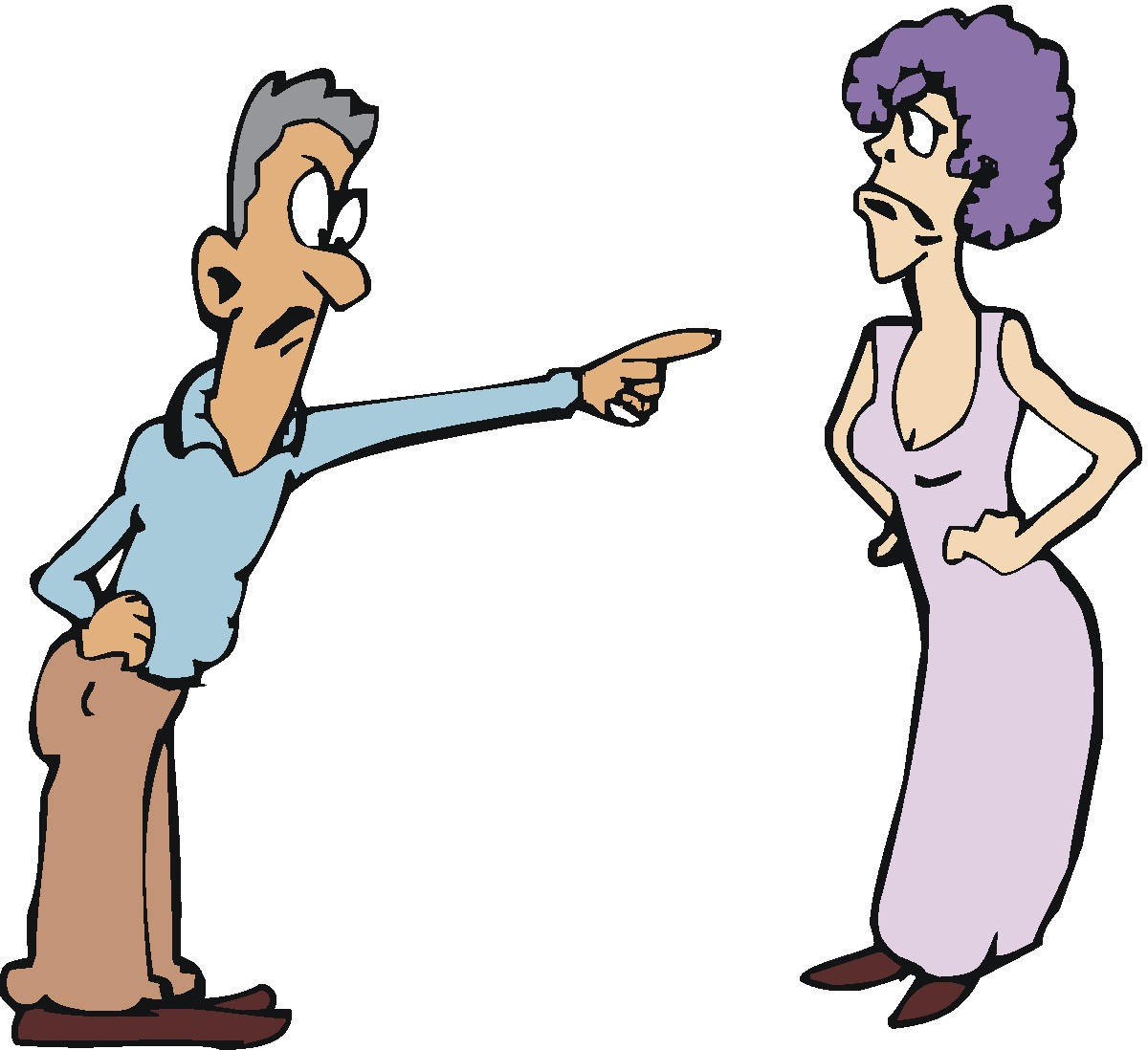 How Unfair To Be In A Nagging Marriage