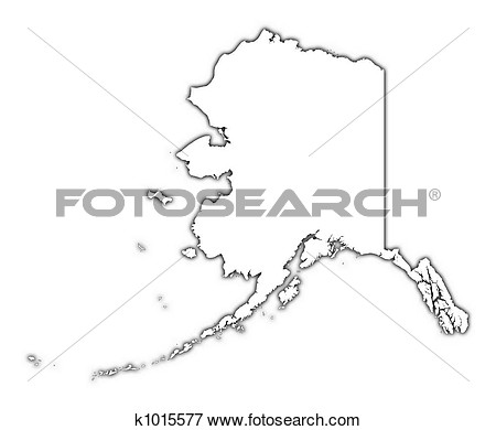 Alaska Map Clipart - Clipart Kid