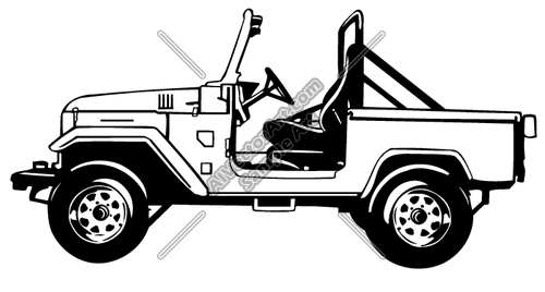 jeep off-road clipart