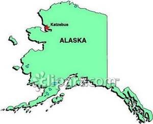 map of alaska ports west coast