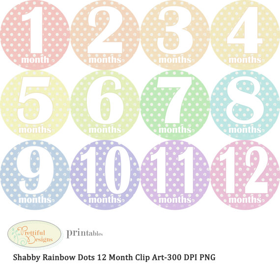 Onesie Clipart Rainbow Dots 2 70 Usd Buy Now On Etsy Digital Onesie