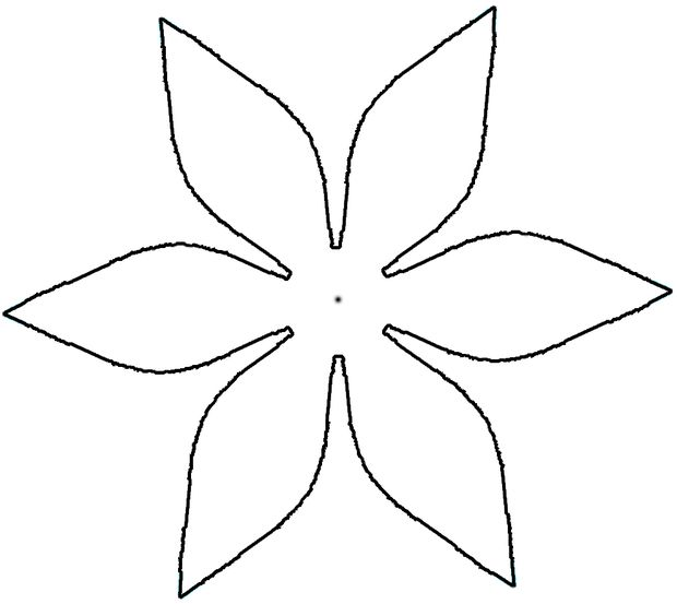 Paper Flower Cut Out Patterns Free Cliparts That You Can Download To
