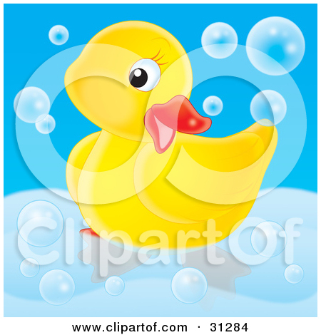 Royalty Free  Rf  Clipart Of Rubber Ducks Illustrations Vector