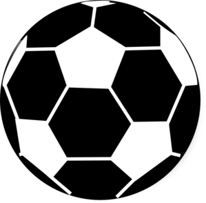 Soccer Ball Clipart Black And White   Clipart Panda   Free Clipart