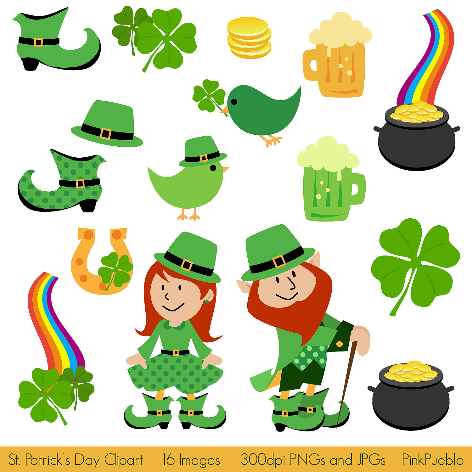 St Patrick S Day Clipart Clip Art St Patricks By Pinkpueblo