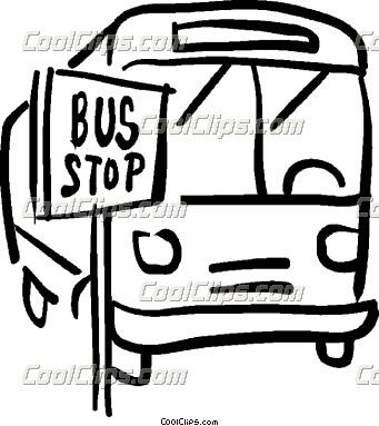 Bus Stop Clip Art