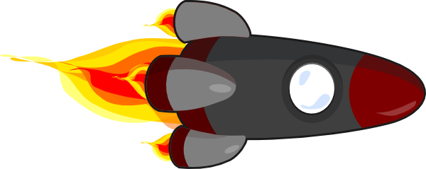 Rocket Fin Clipart - Clipart Kid