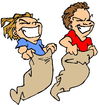 Image result for gunny sack race