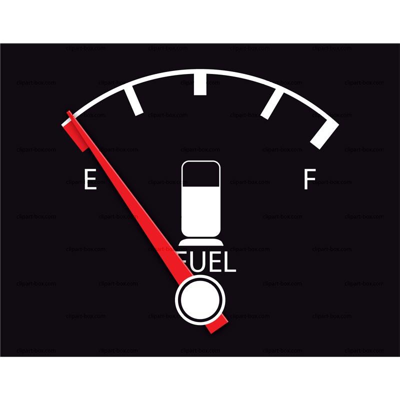 Clipart Fuel Gauge   Royalty Free Vector Design