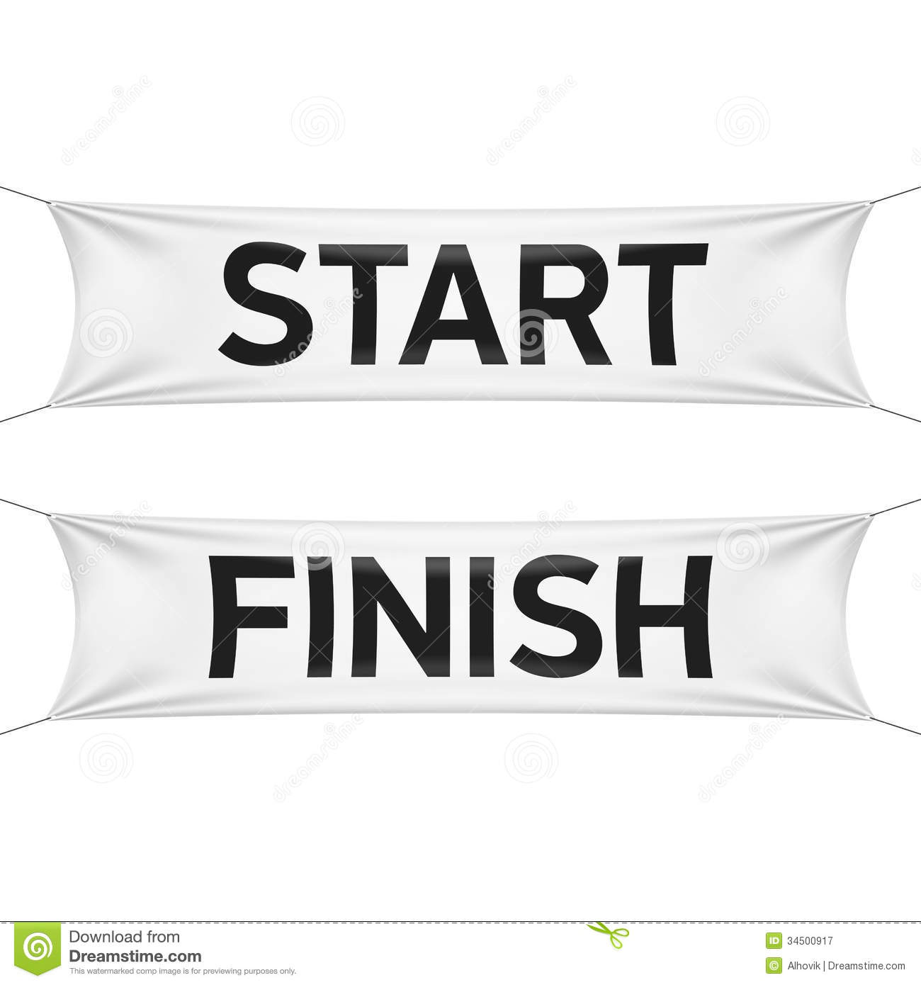 Finish Line Clip Art Starting And Finishing Lines