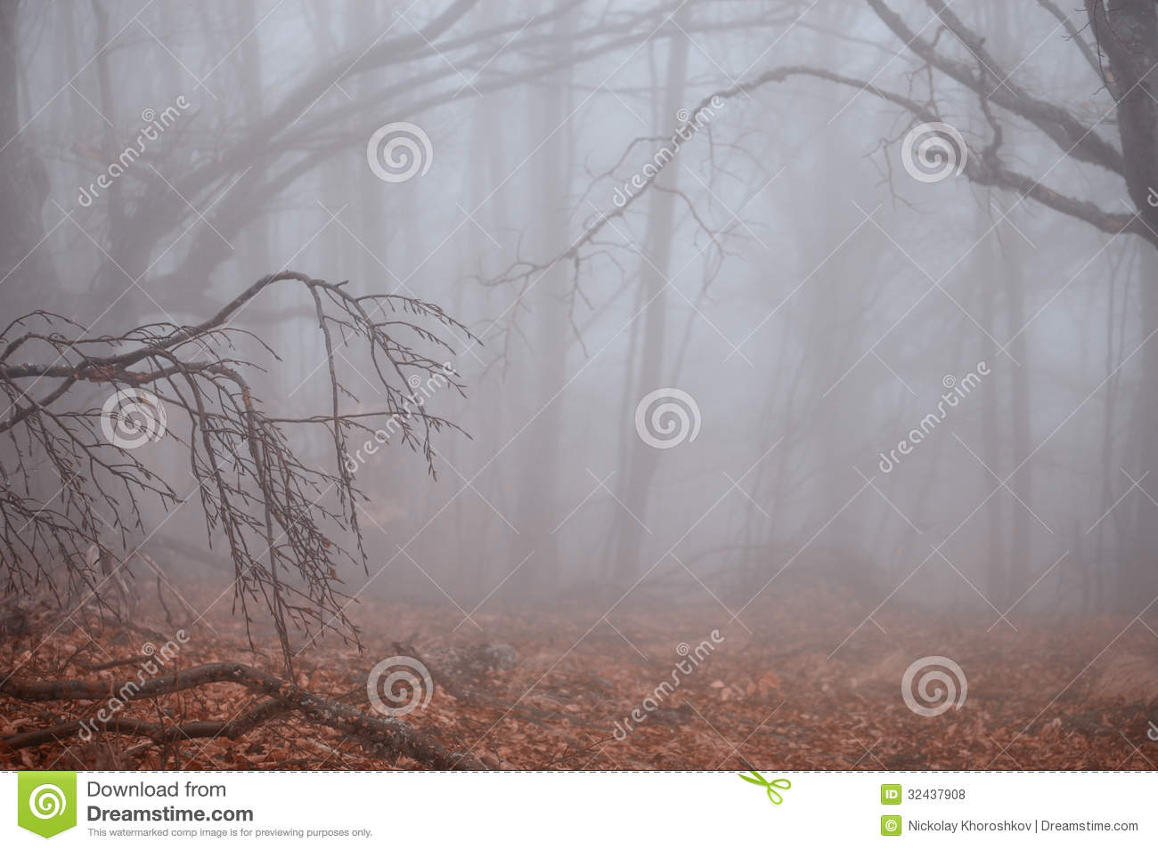 Foggy Weather Clip Art Autumn Forest Foggy Weather