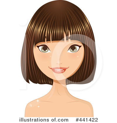 Hair Clipart  441422 By Melisende Vector   Royalty Free  Rf  Stock