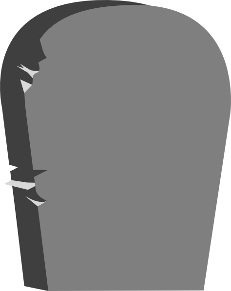 Clip Art Gravestone Clipart clip art gravestone clipart kid headstone at clker com vector online royalty free