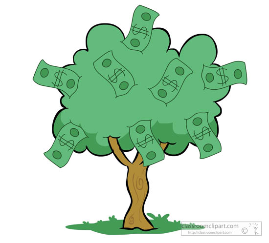 money tree clipart clipart suggest