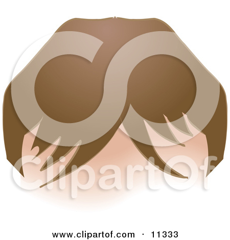 Person S Forehead With Hair And Bangs Clipart Illustration By Geo
