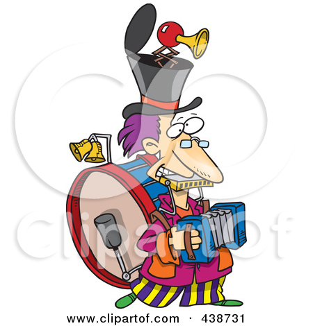 Polka Band Clip Art Preview Clipart