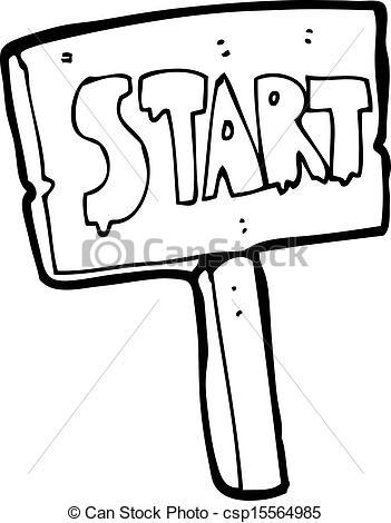 Race Start Clipart - Clipart Kid