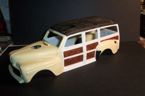 Woody Car Painting 1948 Ford Woody Wagons