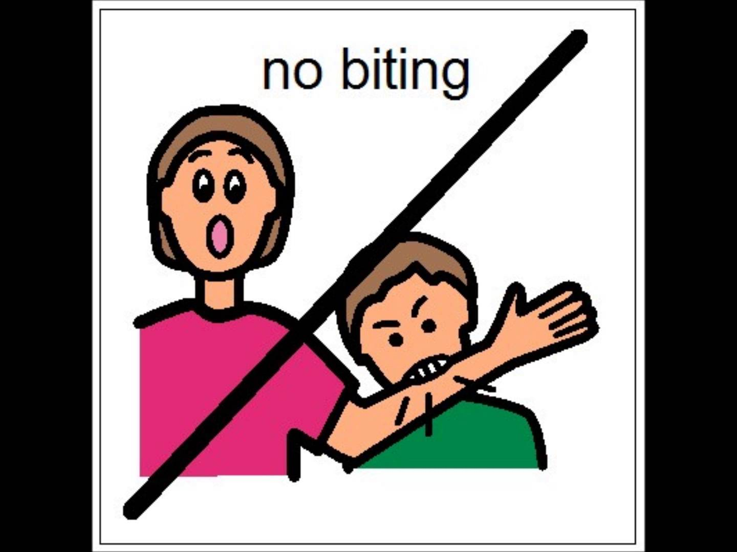 No Hitting Others Clipart - Clipart Suggest