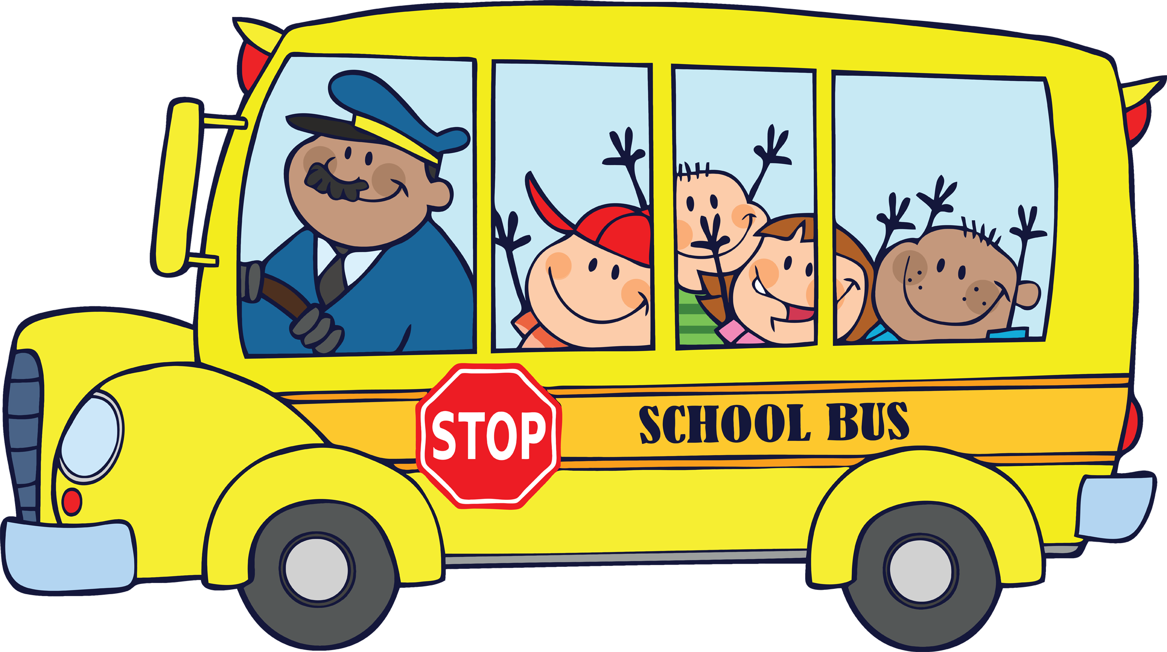 Bus Cartoon Clip Art   Cliparts Co