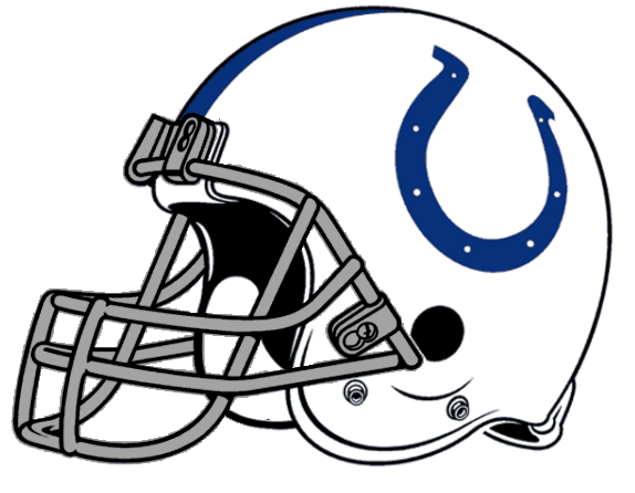 Cool Football Helmets Nfl Nfl 574px Afc Helmet Ind Colts Right Face