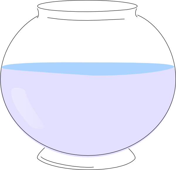 Empty Fish Bowl Clip Art At Clker Com   Vector Clip Art Online