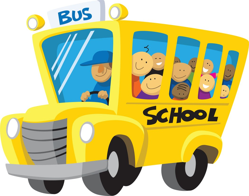 Energy Bus Cartoon Clipart
