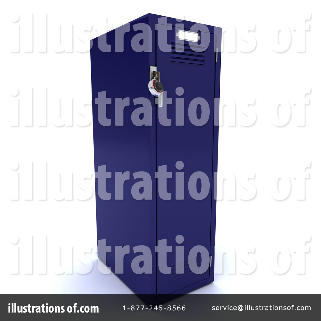 Locker Clipart  1119432 By Kj Pargeter   Royalty Free  Rf  Stock