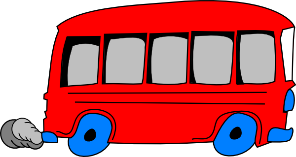 Red School Bus Clip Art At Clker Com   Vector Clip Art Online Royalty
