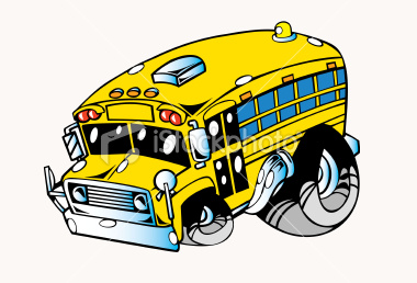 School Bus Clip Art Black And White   Clipart Panda Free Clipart