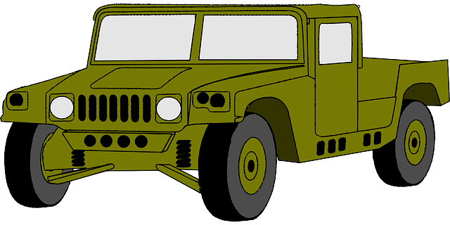 Cartoon Army Truck   Clipart Best