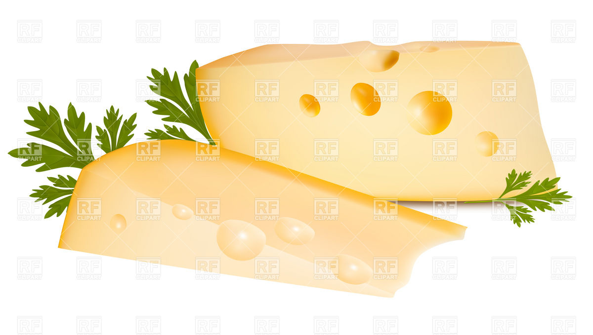 Cheese Slice And Parsley 5312 Food And Beverages Download Royalty