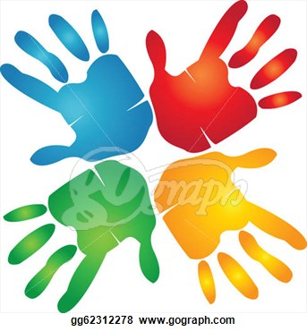 Colorful Hands Clipart   Clipart Panda   Free Clipart Images