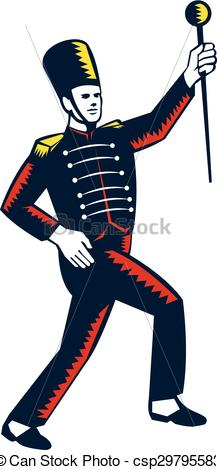 Drum Major Clipart - Clipart Suggest