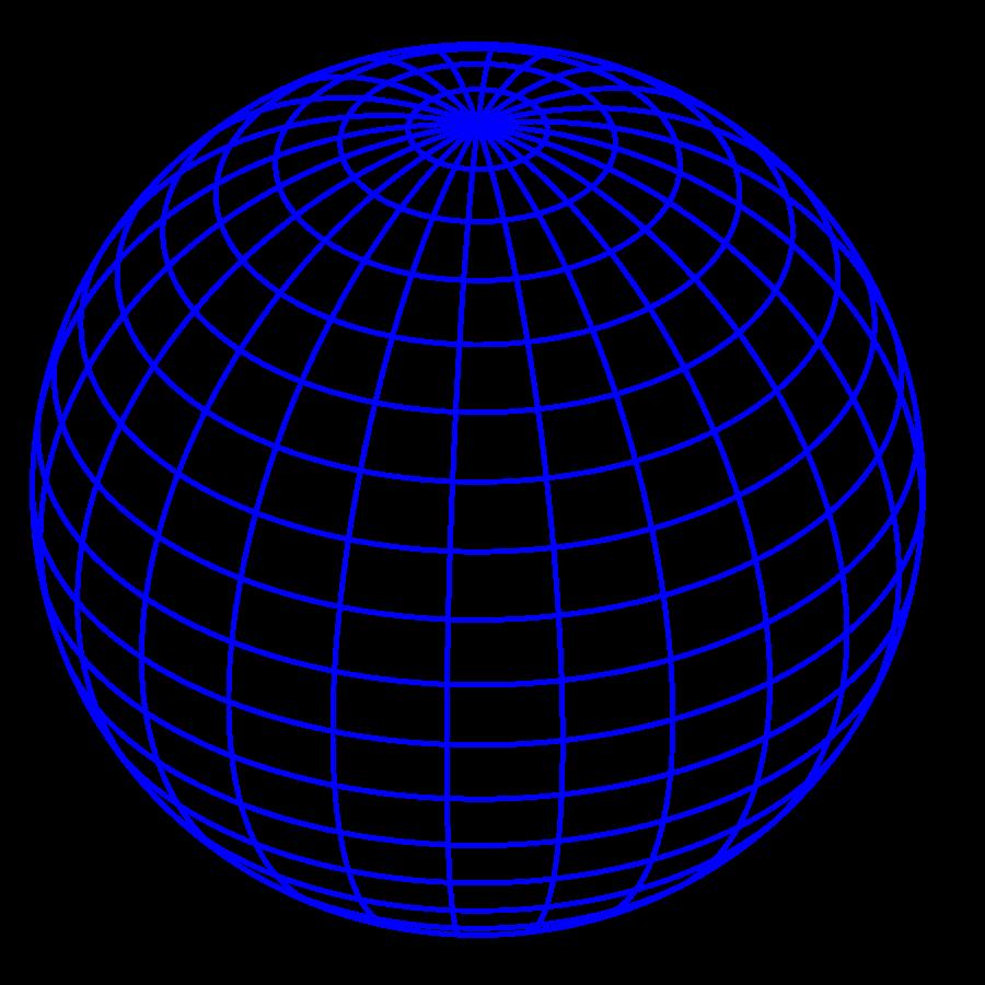 Blue Globe Clipart - Clipart Kid