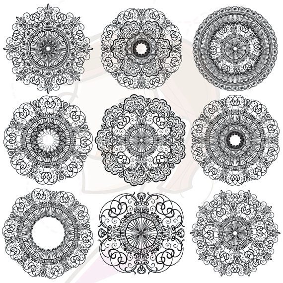 Lace doily clipart clipart suggest for Chocolate lace template