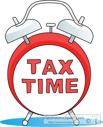 Money   Tax Time April 15   Classroom Clipart