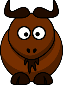 Wildebeest Clipart Bison Md Png