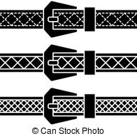 And Stock Art  2202 Black Belt Illustration And Vector Eps Clipart