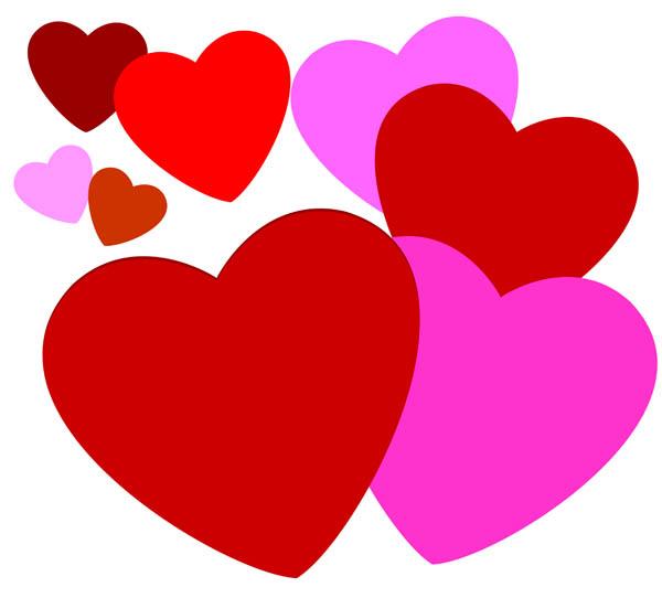 Clip Art Heart Clip Art Free free heart clipart kid love panda images