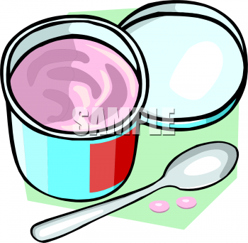 Cup Of Yogurt Clipart Picture   Foodclipart Com