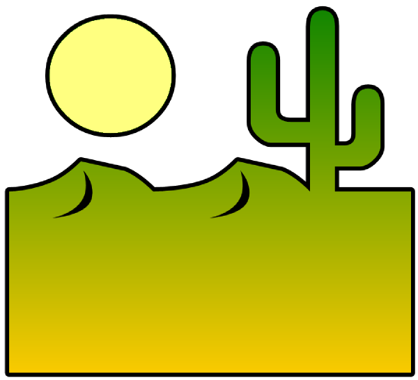 Clip Art Desert Clip Art desert scenes clipart kid cutout clip art at clker com vector online royalty