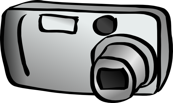 Digital Camera Clip Art At Clker Com   Vector Clip Art Online Royalty
