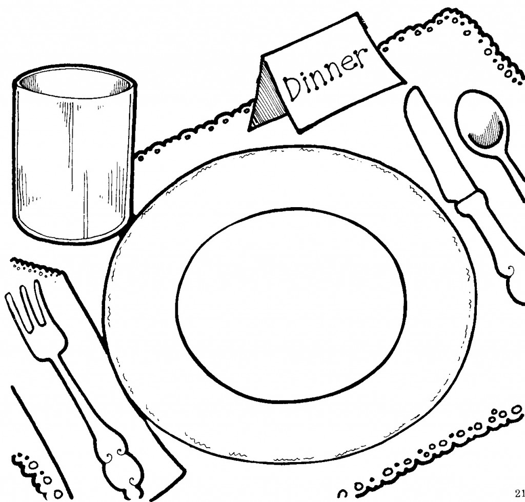 Church Banquet Clipart - Clipart Kid