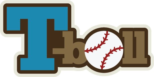 Download T Ball Baseball Clip Art