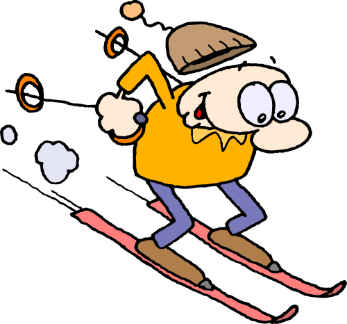Cartoon Ski Clipart - Clipart Kid