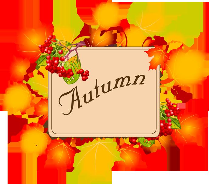 Clip Art  Autumn Borders Clipart - Clip