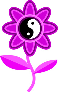 Groovy Flower Clip Art Freeclipartpics Free Birthday Car Pictures