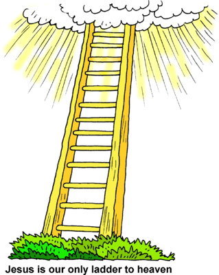 Heaven Ladder Clipart